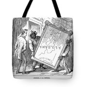 Reconstruction Cartoon Tote Bag by Granger