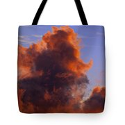 Red Clouds Tote Bag by Garry Gay