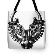 Rome: Gold Earring Tote Bag by Granger