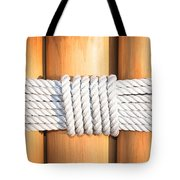 Rope Tote Bag by Tom Gowanlock