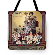 Sheet Music Cover, 1916 Tote Bag by Granger