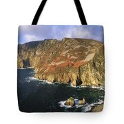 Slieve League, Co Donegal, Ireland Tote Bag by The Irish Image Collection