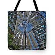 Sony Center - Berlin Tote Bag by Juergen Weiss