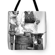 Spaghetti Vendor Tote Bag by Granger