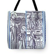 St. Catherine, Italian Philosopher Tote Bag by Photo Researchers