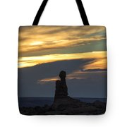 Standing Tall Tote Bag by Sandra Bronstein
