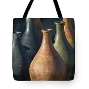 Sunrise And Pottery Tote Bag by Sandra Bronstein