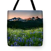 Tatoosh Dawn Tote Bag by Mike  Dawson