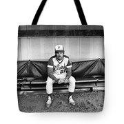 Ted Turner (1938- ) Tote Bag by Granger