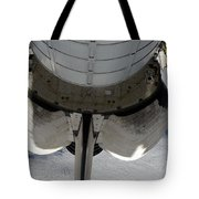 The Aft Portion Of The Space Shuttle Tote Bag by Stocktrek Images