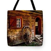 The Blacksmith Shop Tote Bag by David Patterson