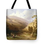 The Pioneers Tote Bag by Joshua Shaw