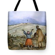 The Sanctuary, 1863 Tote Bag by Granger