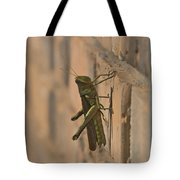 The Visitor Tote Bag by Kim Henderson
