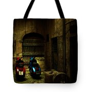Time Travellers Tote Bag by Andrew Paranavitana