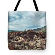 Volcano Batur Tote Bag by MotHaiBaPhoto Prints
