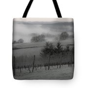 Winter Vineyard Tote Bag by Jean Noren