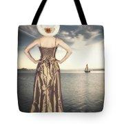 Woman At The Lake Tote Bag by Joana Kruse