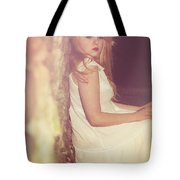Woman In Alley Tote Bag by Joana Kruse