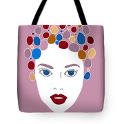Woman In Fashion Tote Bag by Frank Tschakert
