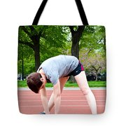 Stretching Exercises Tote Bag by Photo Researchers