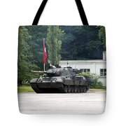 The Leopard 1a5 Of The Belgian Army Tote Bag by Luc De Jaeger