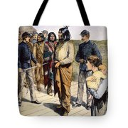Geronimo (1829-1909) Tote Bag by Granger