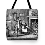 Benjamin Franklin Tote Bag by Granger