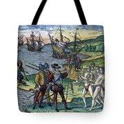Christopher Columbus Tote Bag by Granger