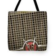 1930 Cadillac 452 Fleetwood Grille Emblem Tote Bag by Jill Reger