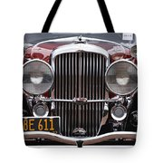 1933 Duesenberg Model J - D008167 Tote Bag by Daniel Dempster