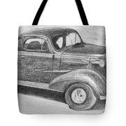 1937 Chevy Tote Bag by Kume Bryant