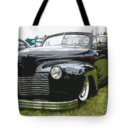 1940 Chevy Convertable Tote Bag by Steve McKinzie