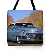 1954 Cadillac Coupe Deville Tote Bag by Jill Reger
