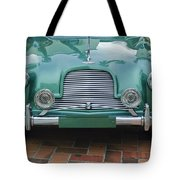 1955 Aston Martin Tote Bag by Jill Reger