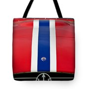 1956 Maserati 350 S Tote Bag by Jill Reger