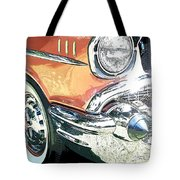 1957 Chevy Tote Bag by Steve McKinzie