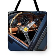 1963 Apollo Steering Wheel     Tote Bag by Jill Reger