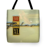 1963 Ford Galaxie Tote Bag by Mark Dodd