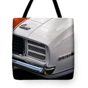 1969 Chevrolet Camaro Indianapolis 500 Pace Car Tote Bag by Gordon Dean II