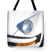 1987 White Porsche 911 Carrera Front Tote Bag by James BO  Insogna