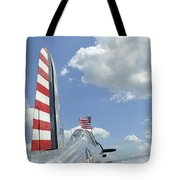 A Bt-13 Valiant Trainer Aircraft Tote Bag by Stocktrek Images