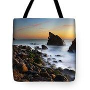 Adraga Beach Tote Bag by Carlos Caetano