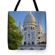 Basilique Du Sacre Coeur Tote Bag by Brian Jannsen