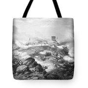 Battle Of Chapultepec, 1847 Tote Bag by Granger