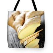 Ginger Root Tote Bag by Elena Elisseeva