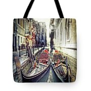 Gondolas Tote Bag by Joana Kruse