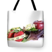 Healthy Diet Tote Bag by Photo Researchers, Inc.