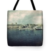 Historic Fox River Mills Tote Bag by Joel Witmeyer