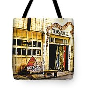 Junk Company Tote Bag by Scott Pellegrin